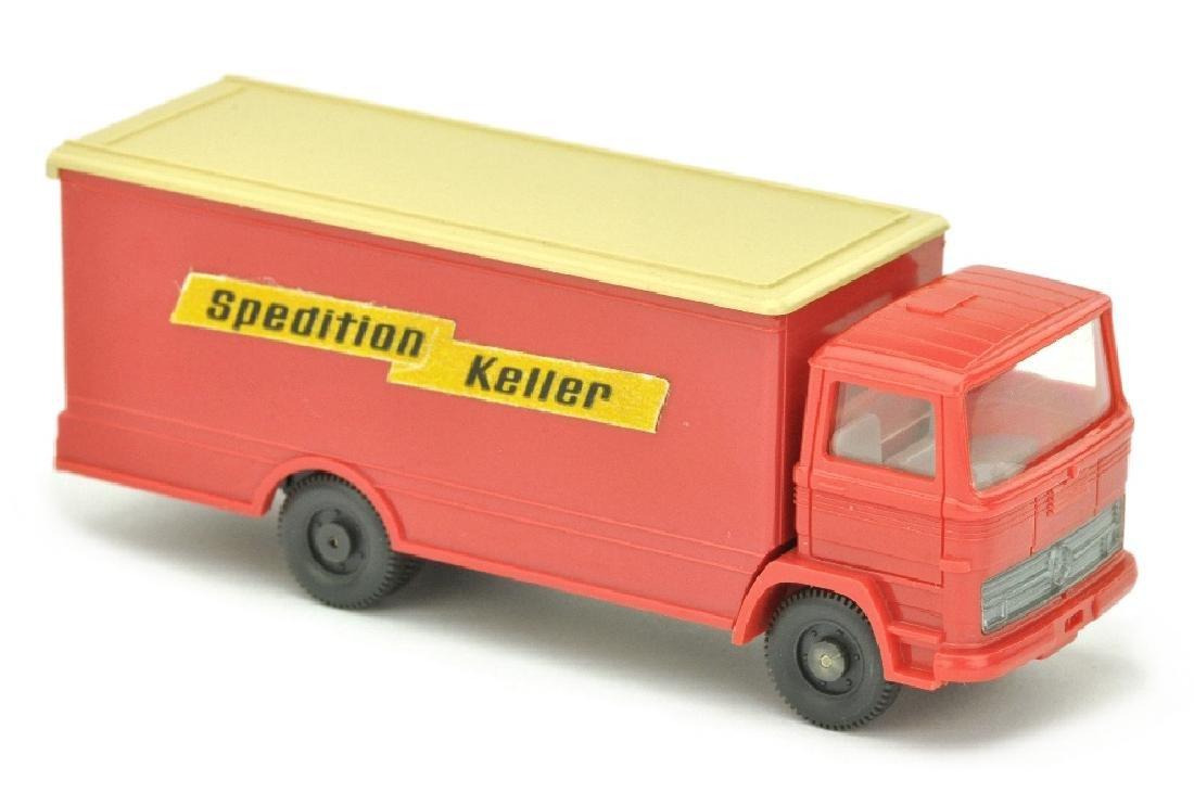 Koffer-LKW MB 1317 Spedition Keller