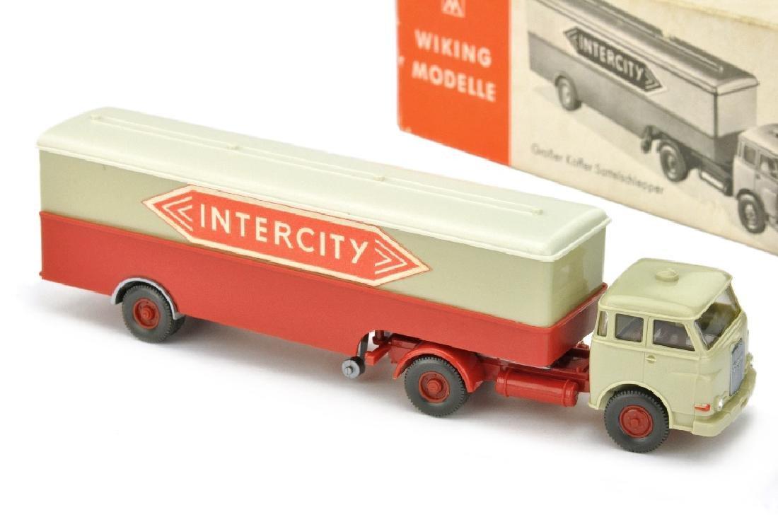 Koffer-Sattelzug MAN 10.230 Intercity (im Ork)