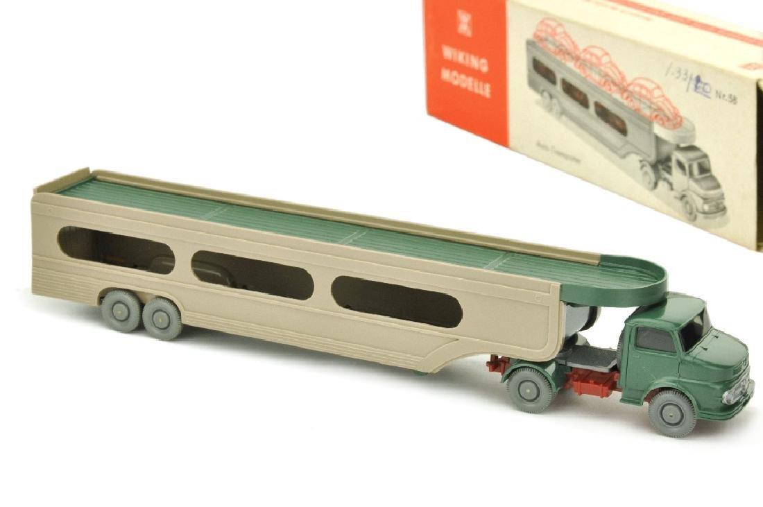 PKW-Transporter MB 1413, graugruen (im Ork)