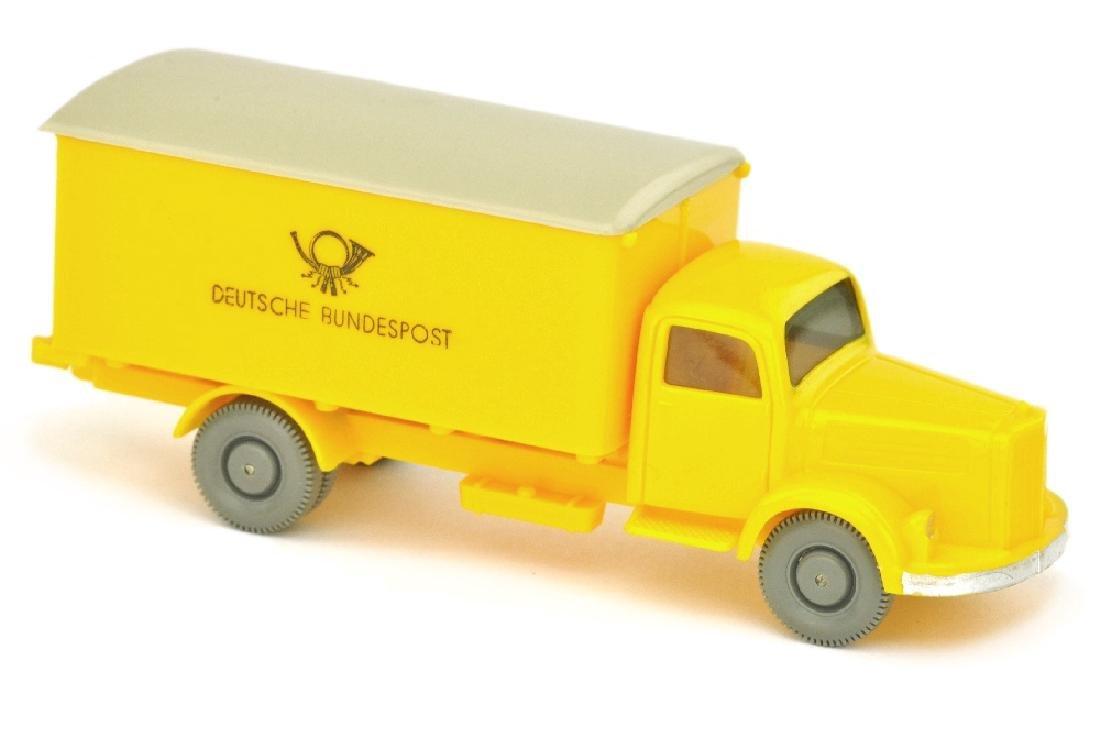 Postwagen MB 3500 Bundespost, gelb