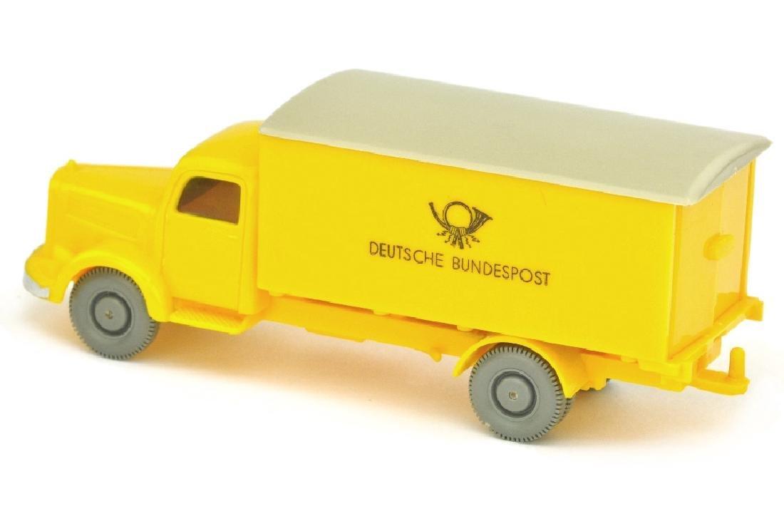 Postwagen MB 3500 Bundespost, gelb - 2