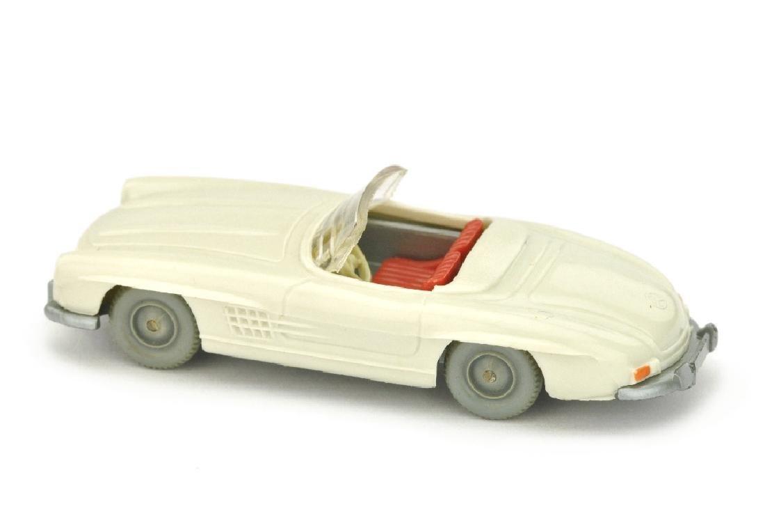 MB 300 SL Cabrio, perlweiss (ohne Figuren) - 2