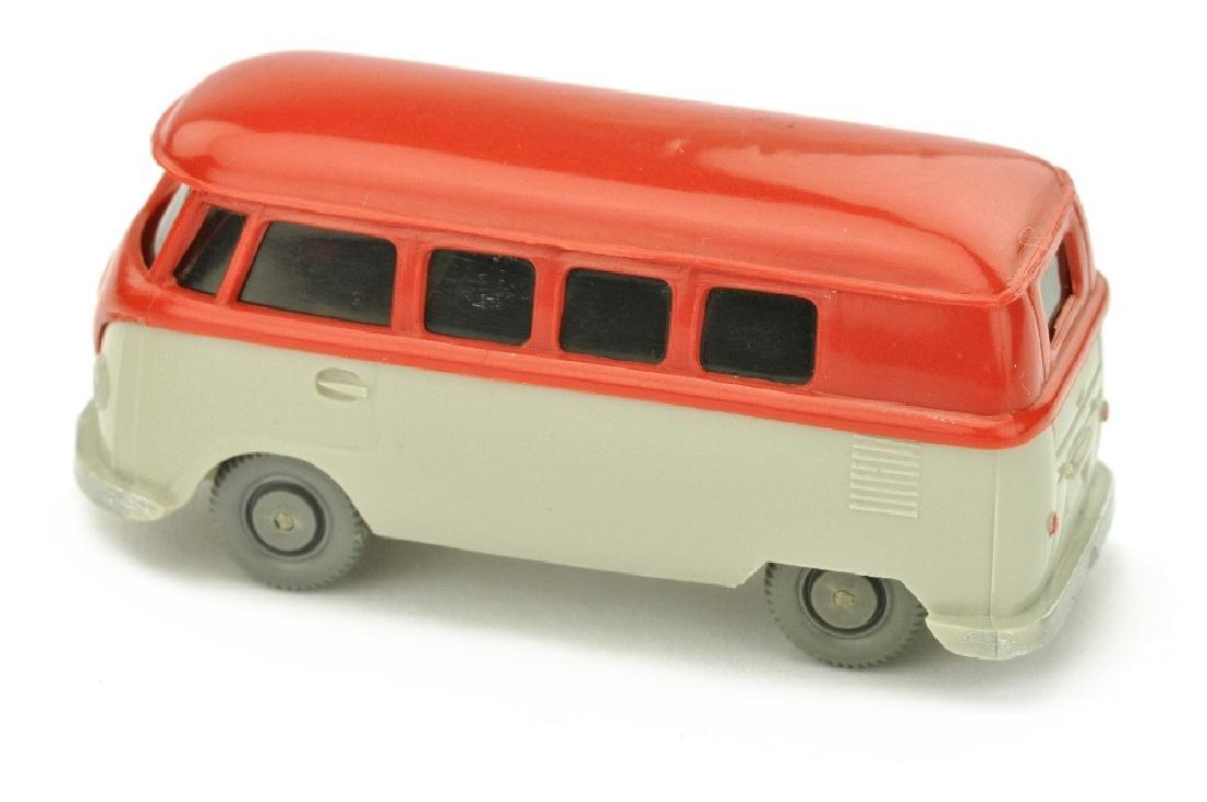 VW T1 Bus (alt), rot/kieselgrau - 2