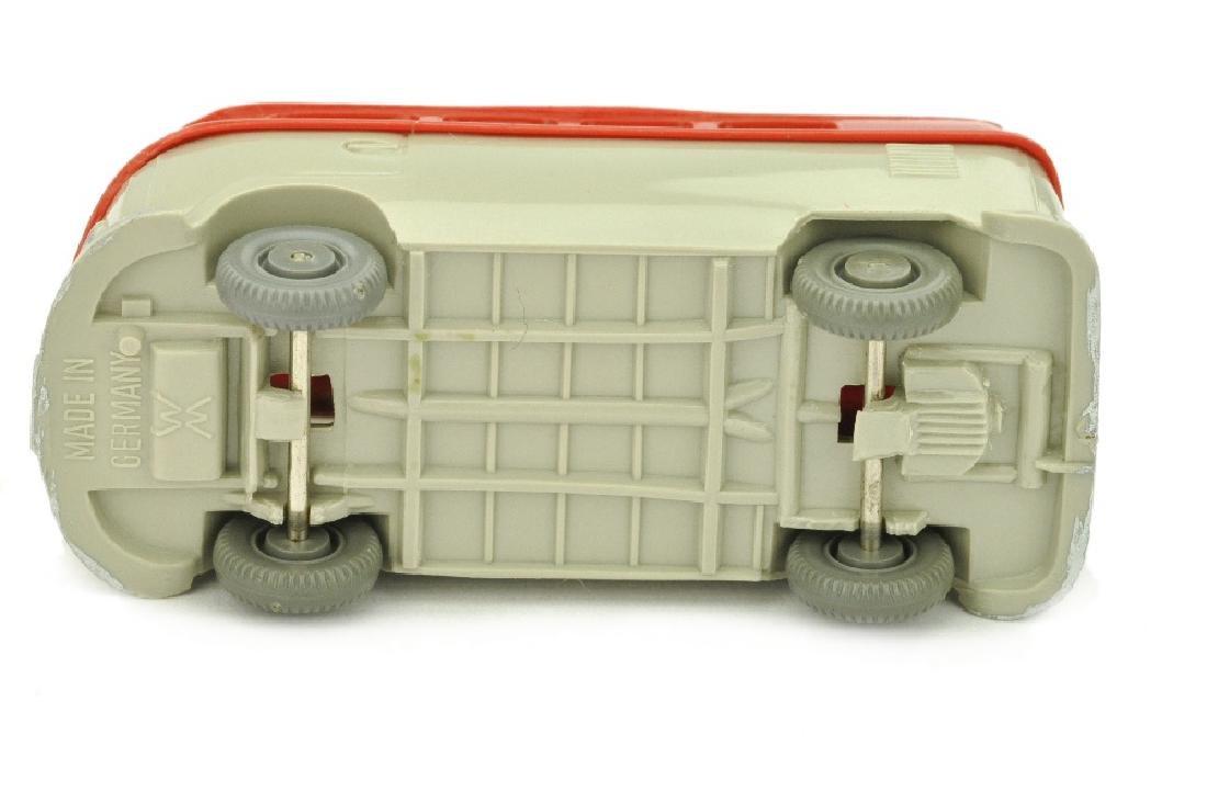 VW T1 Bus (alt), rot/kieselgrau - 3