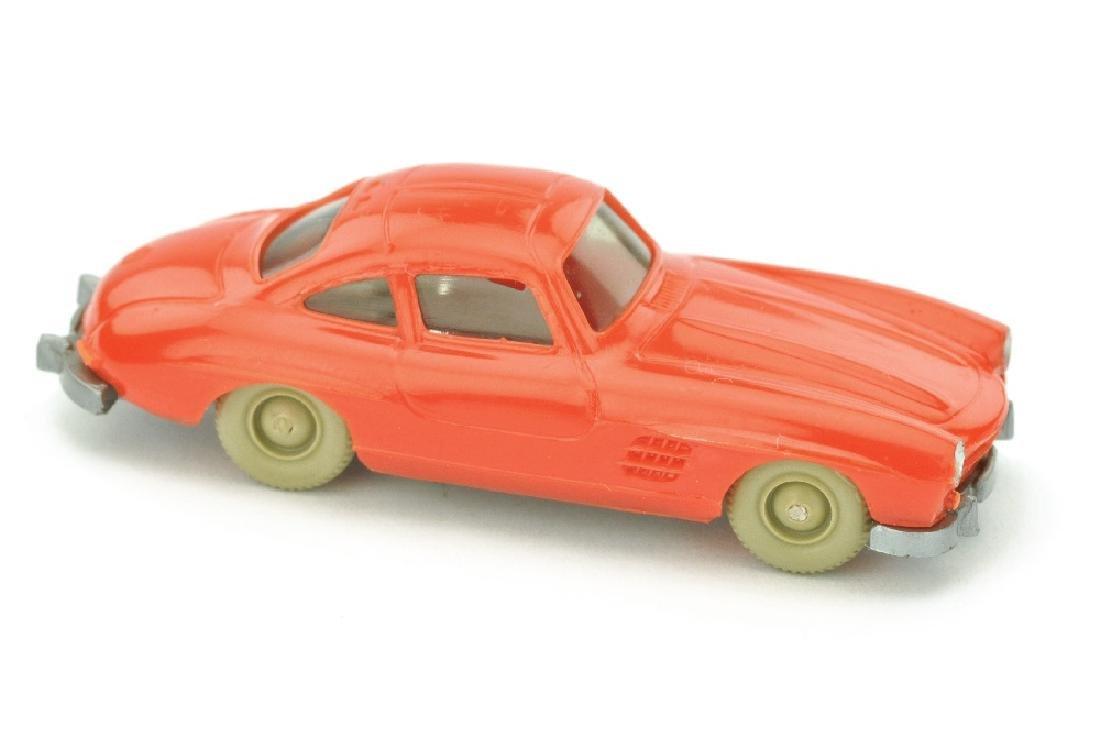 Mercedes 300 SL Coupe, orangerot