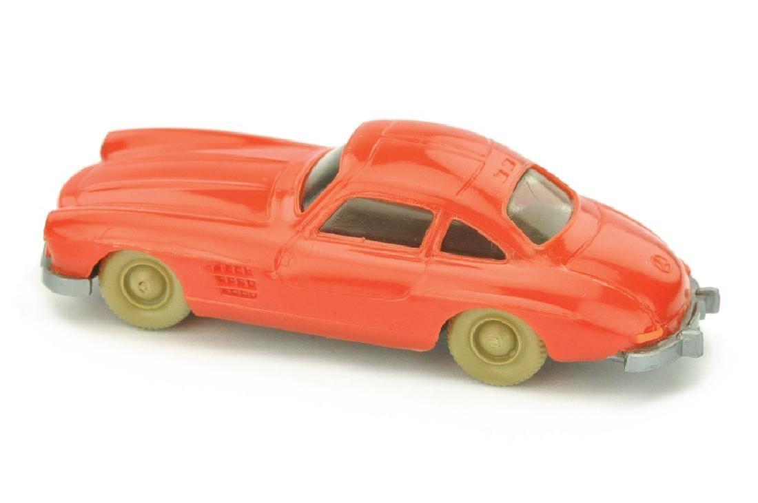 Mercedes 300 SL Coupe, orangerot - 2