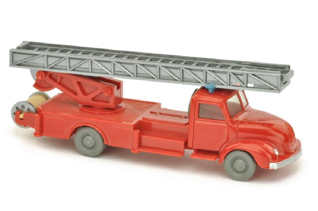Leiterwagen Magirus, rot