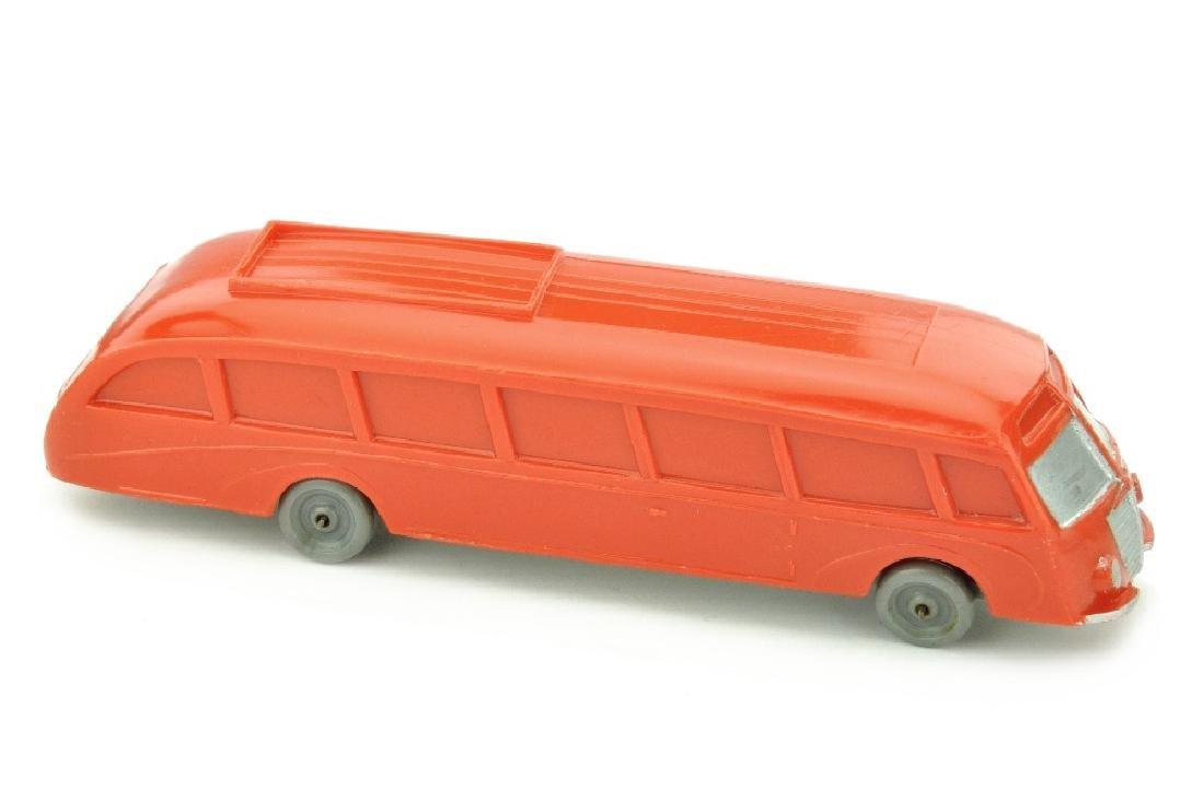 Stromlinienbus (Typ 2), orangerot