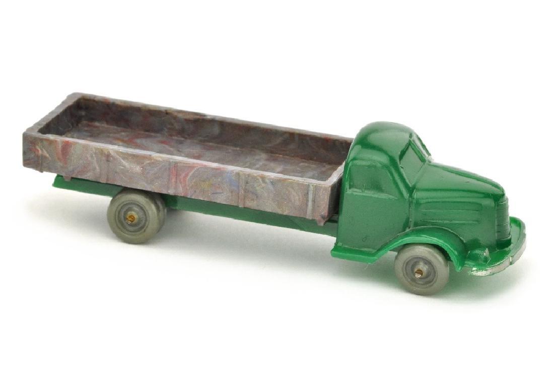 Dodge Pritsche, dunkelgruen/misch-bunt