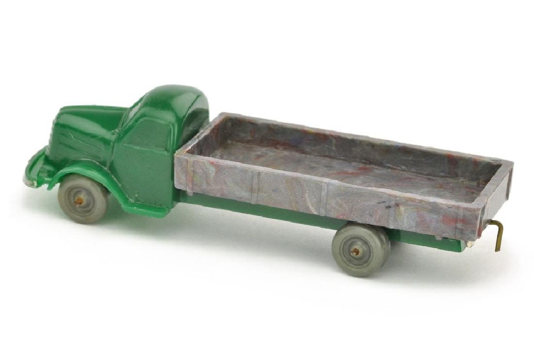 Dodge Pritsche, dunkelgruen/misch-bunt - 2