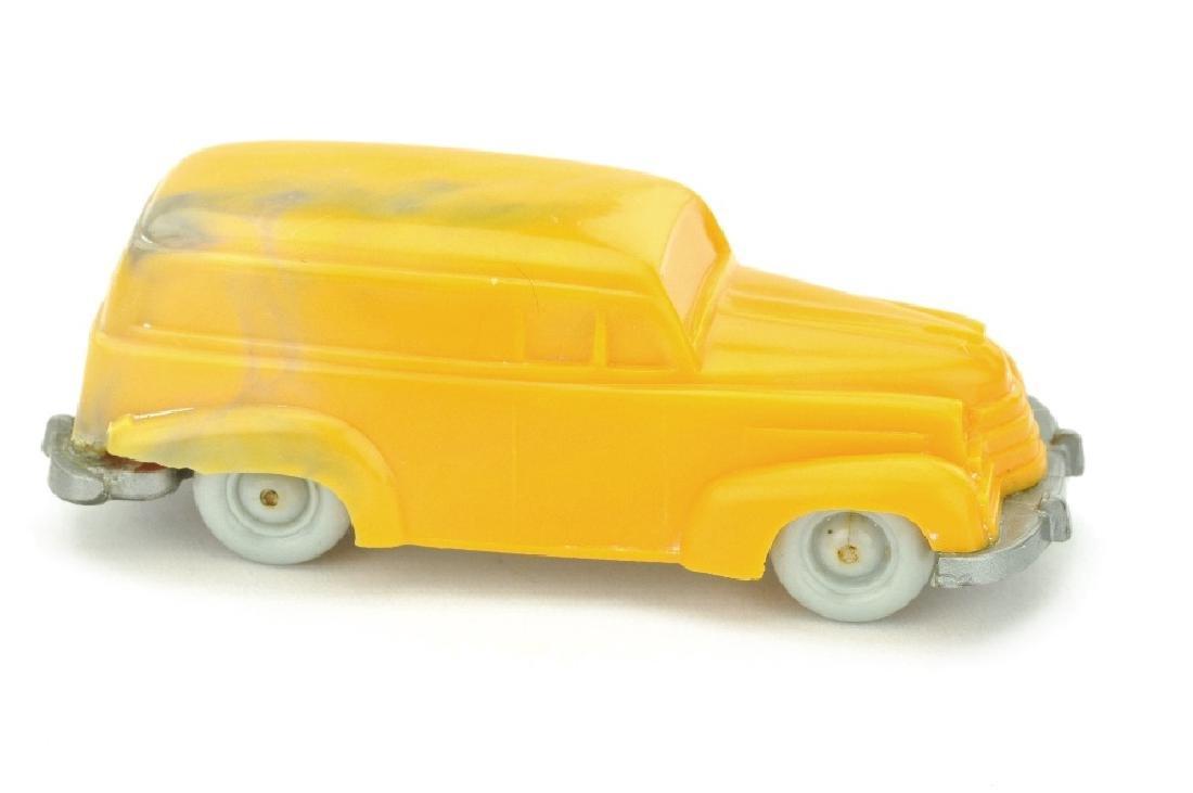 Vorserie Opel Olympia Lieferwagen, misch-gelb