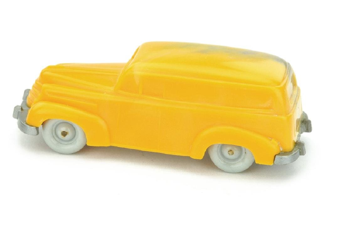 Vorserie Opel Olympia Lieferwagen, misch-gelb - 2