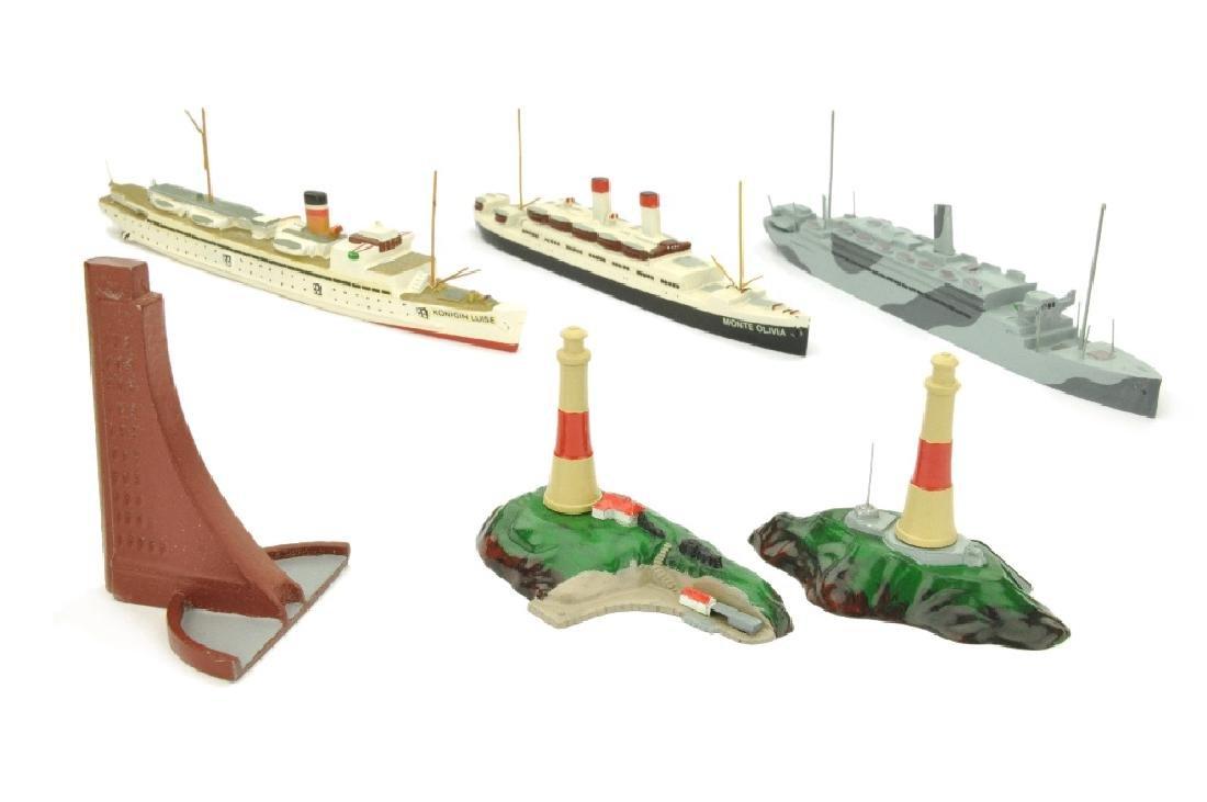 Konvolut 6 Modelle (Dr. Grope)