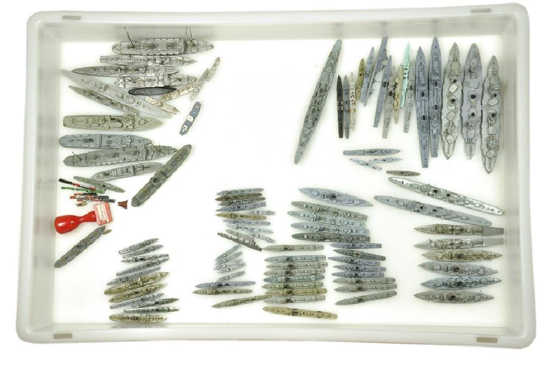 Konvolut ca. 100 Kriegsschiffe