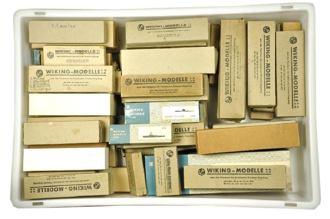 Konvolut ca. 60 leere Schiffs-Kartons