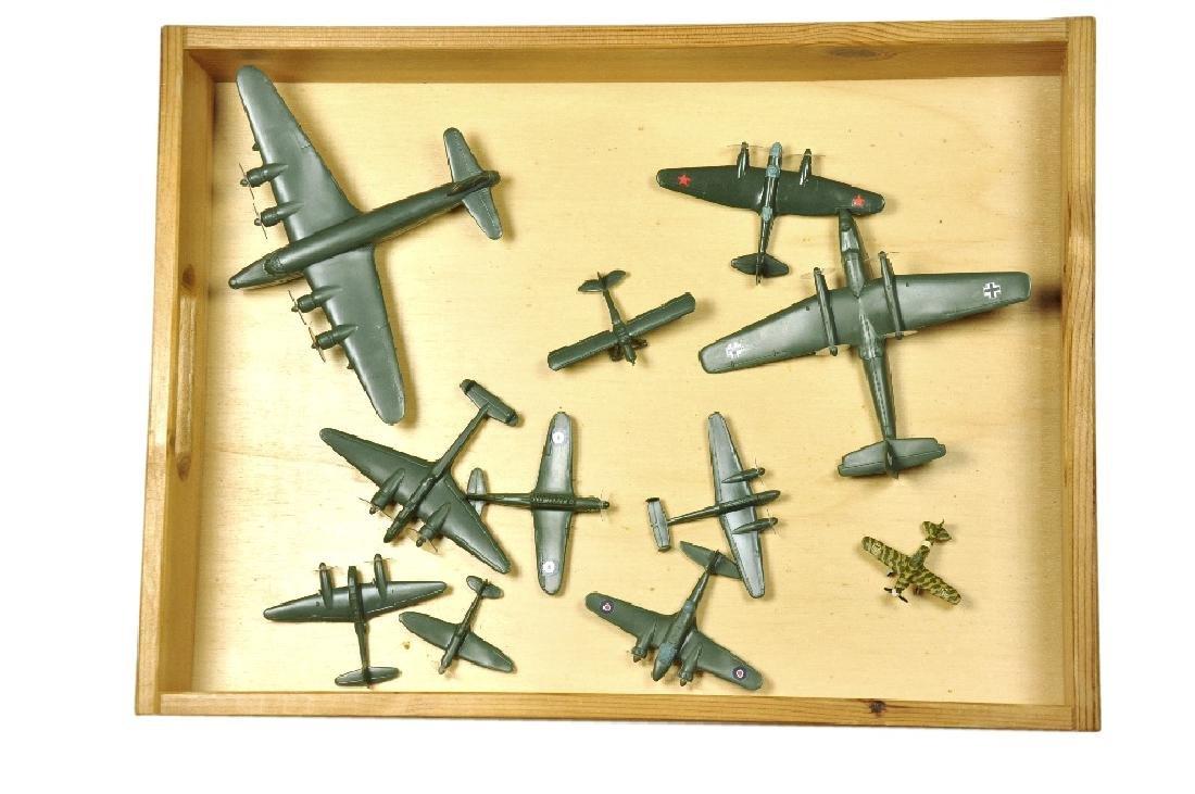 Konvolut 10+1 Flugzeuge (Dr. Grope)