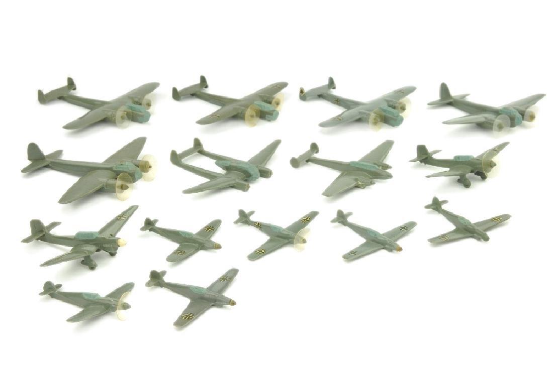 Konvolut 15 deutsche Flugzeuge (Vorkrieg)
