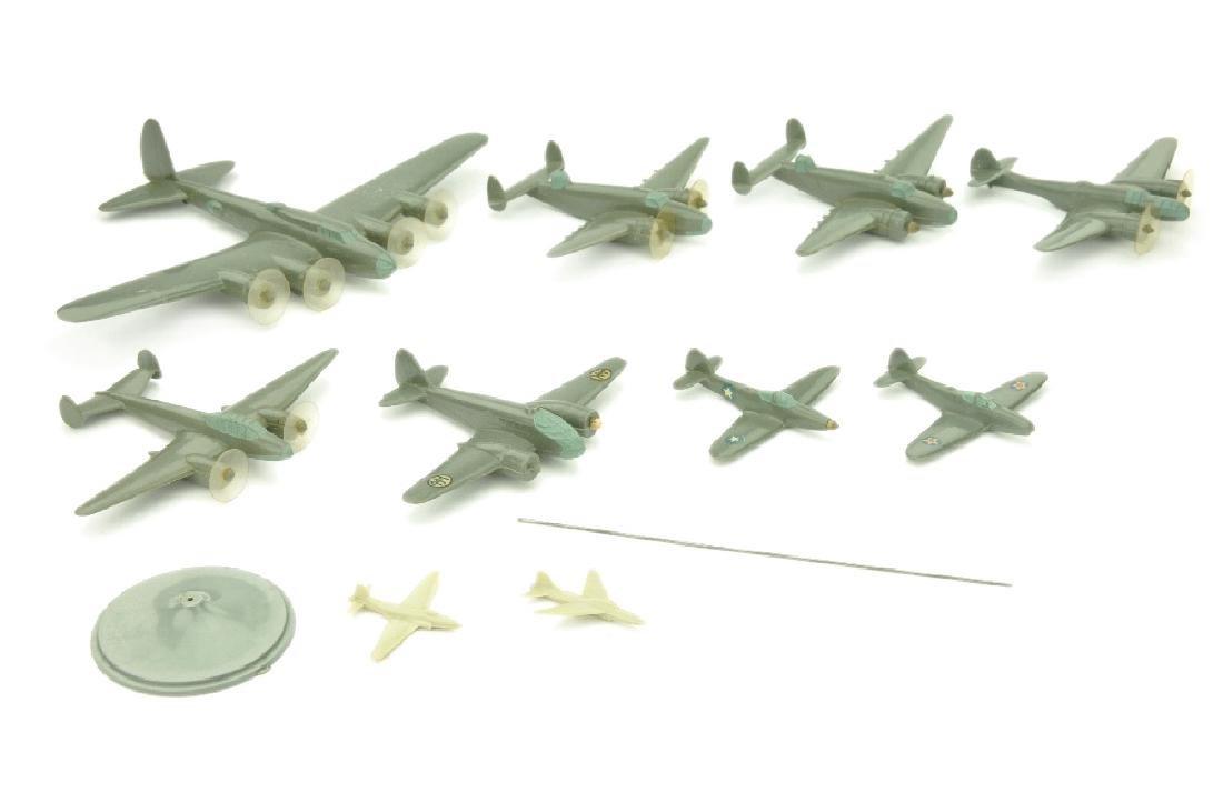 Konvolut 8+3 Flugzeuge (Vorkrieg)