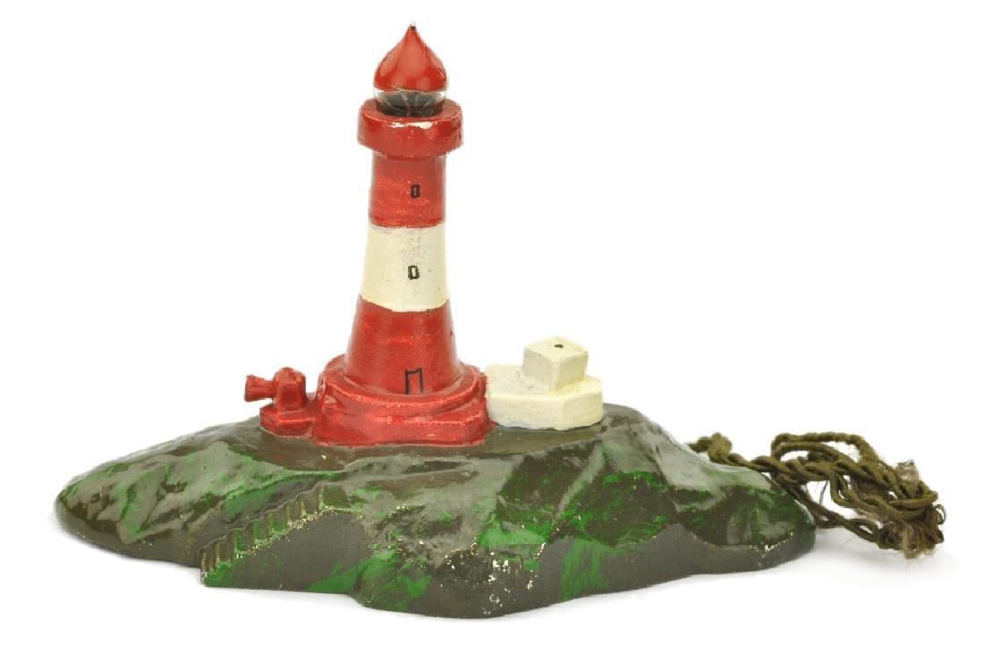 Leuchtender Leuchtturm mit Insel (Typ 2)