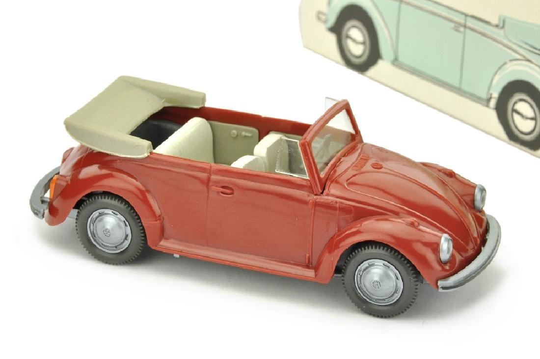 VW Kaefer Cabrio (Typ 3), weinrot (im Ork)