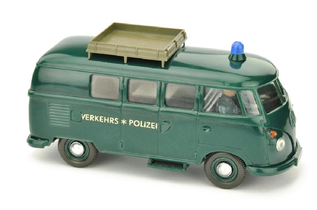 VW Polizeiwagen (Typ 2), blaugruen (2.Wahl)