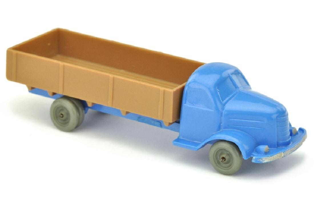 Dodge Pritsche, himmelblau/ockerbraun