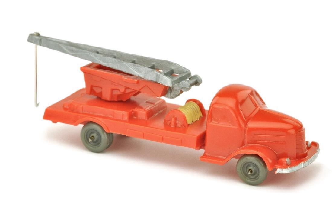 Kranwagen Dodge, orangerot