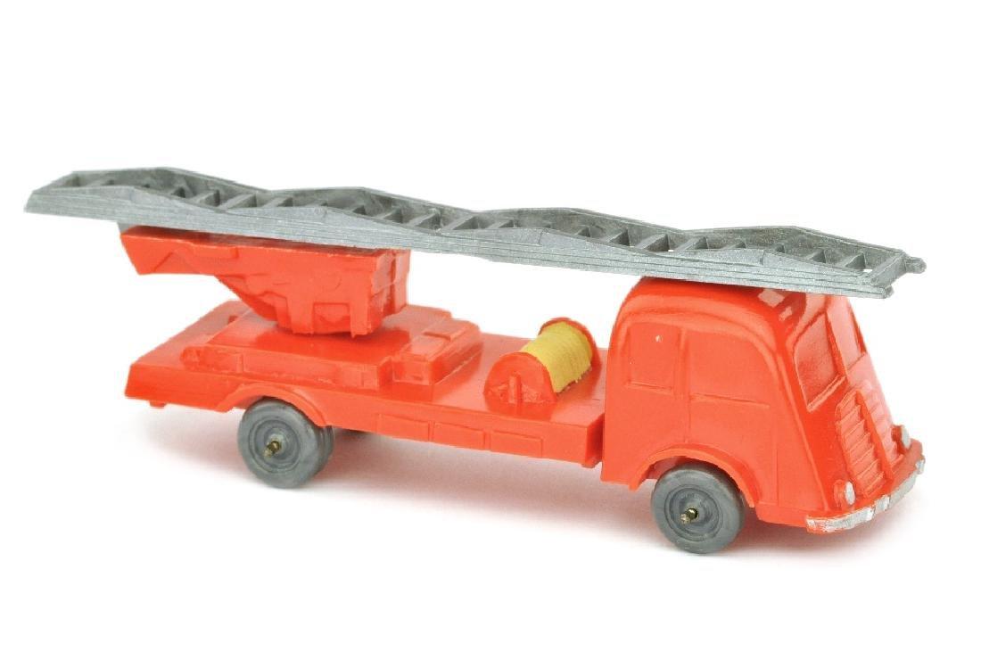 Leiterwagen Fiat, orangerot