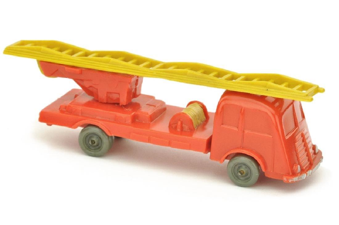 Leiterwagen Fiat, orangerot (Leiter gelb)