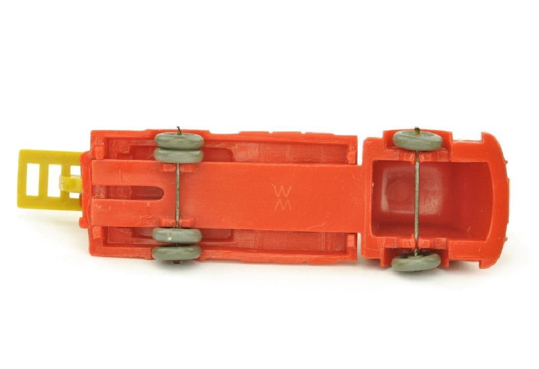 Leiterwagen Fiat, orangerot (Leiter gelb) - 2