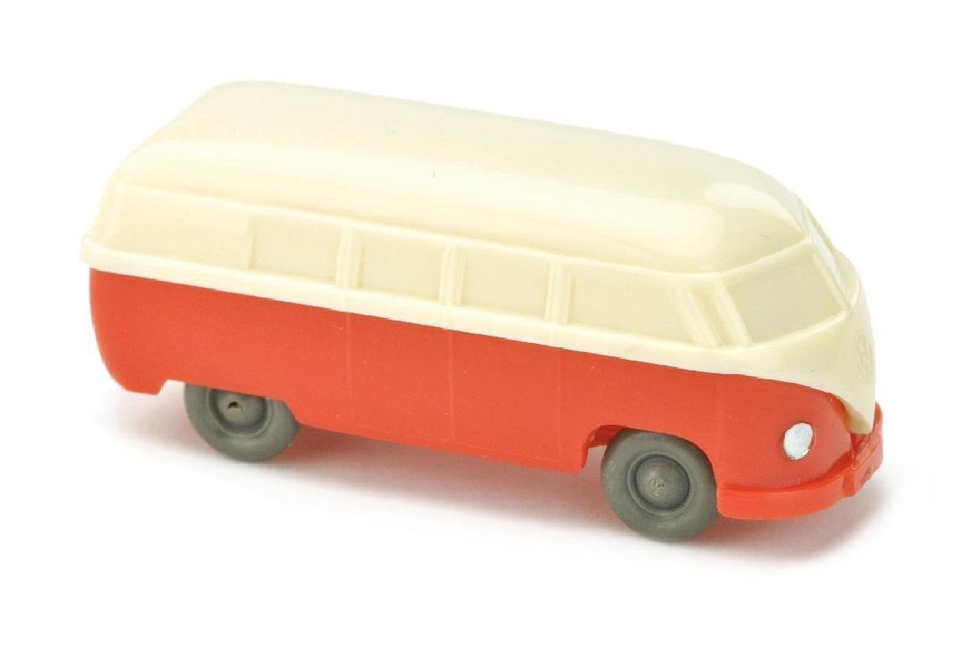 VW T1 Bus (Typ 3), cremeweiss/orangerot