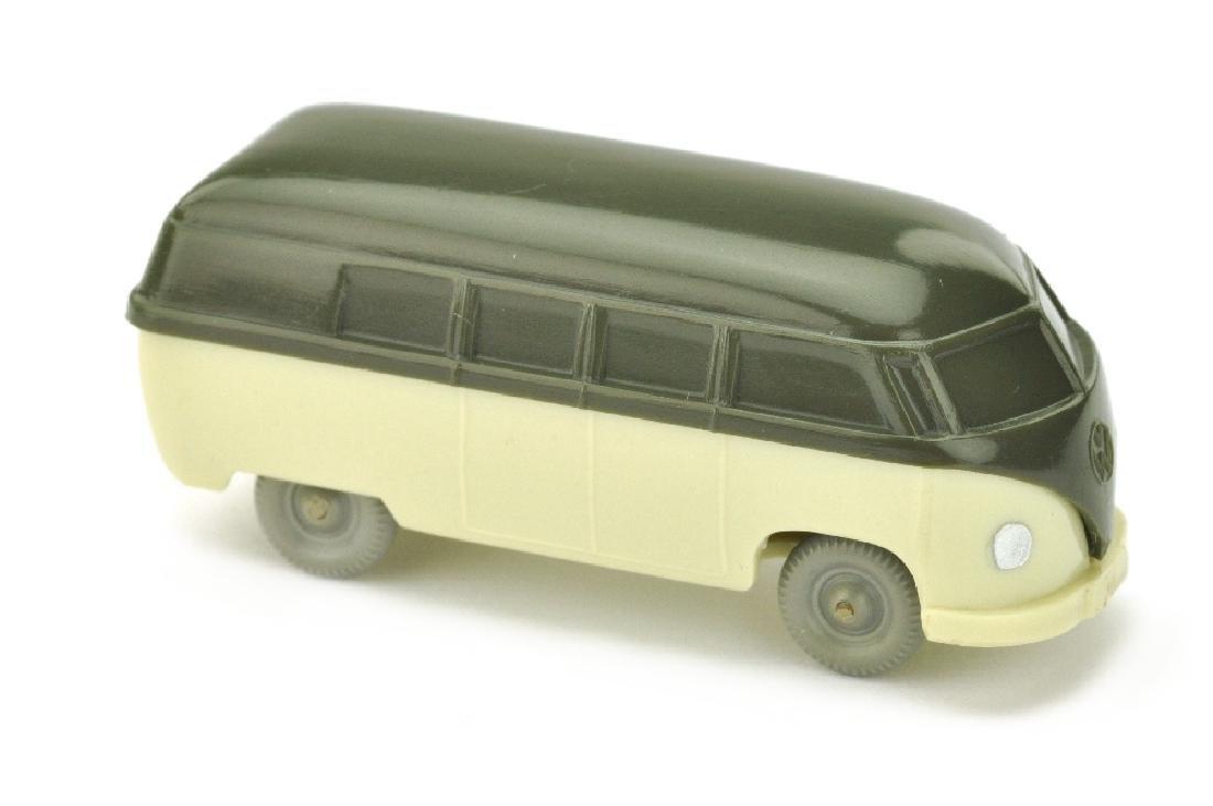 VW T1 Bus (Typ 3), olivgruen/hellgruenbeige