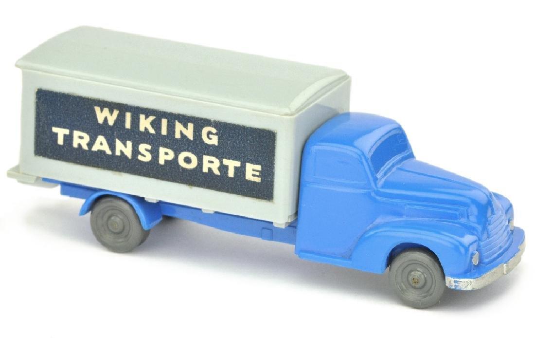 Koffer-LKW Ford, himmelblau/silbergrau