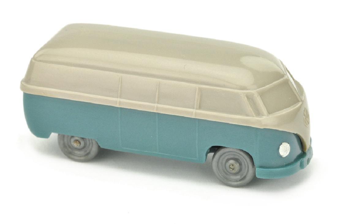 VW T1 Kasten (Typ 3), braunelfenbein/m'graublau