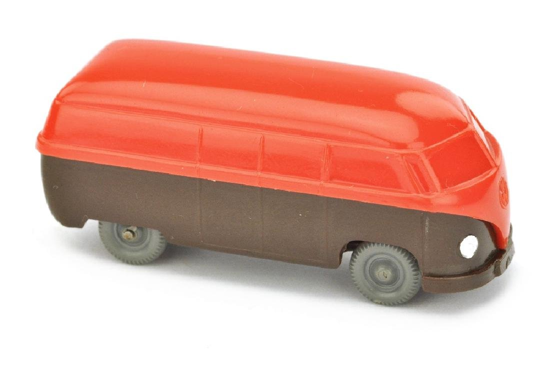VW T1 Kasten (Typ 3), orangerot/schokobraun