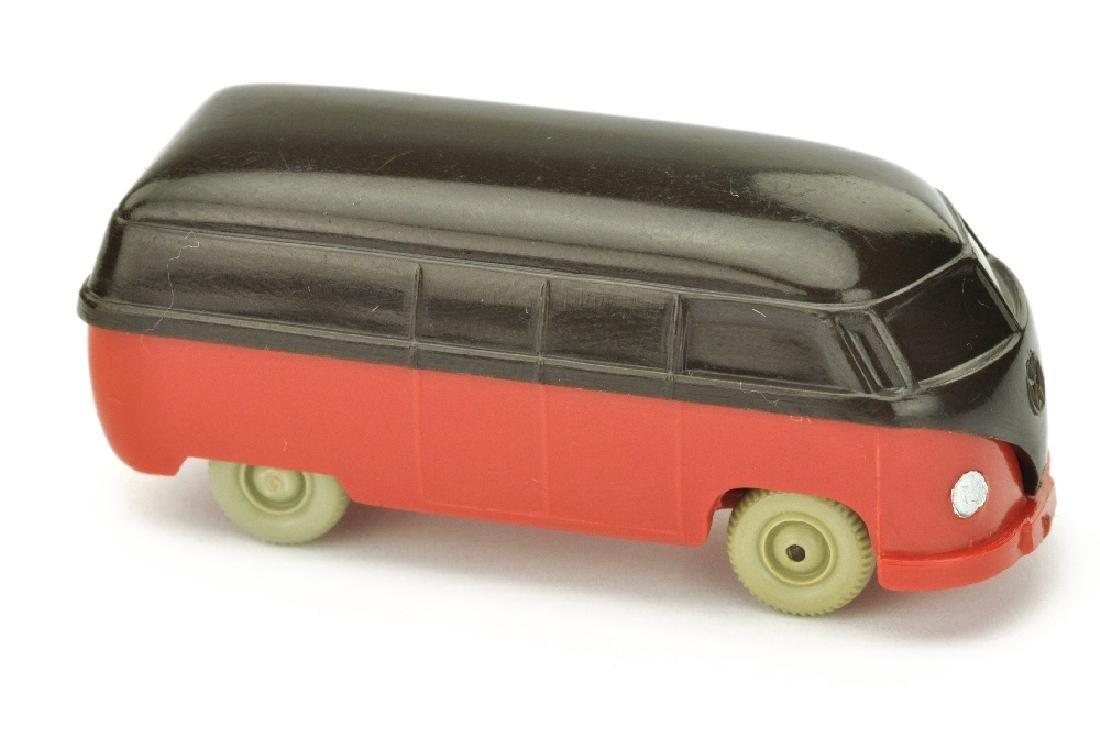 VW T1 Kasten (Typ 3), braunschwarz/rot