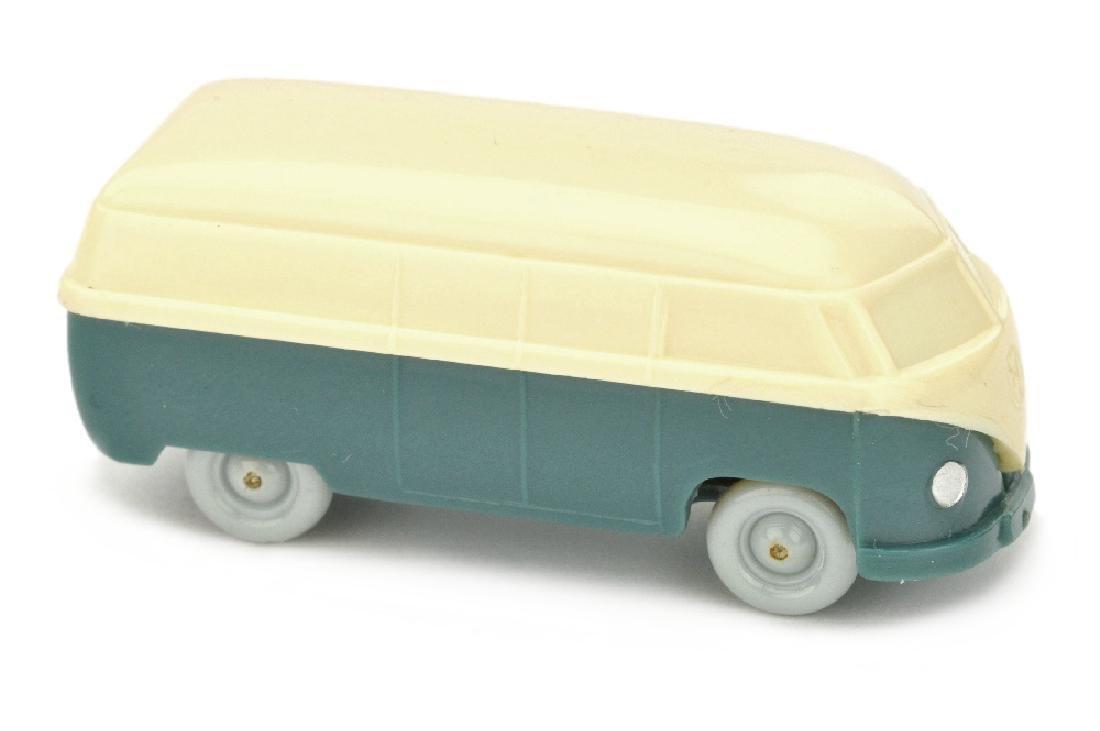 VW T1 Kasten (Typ 3), cremeweiss/mattgraublau