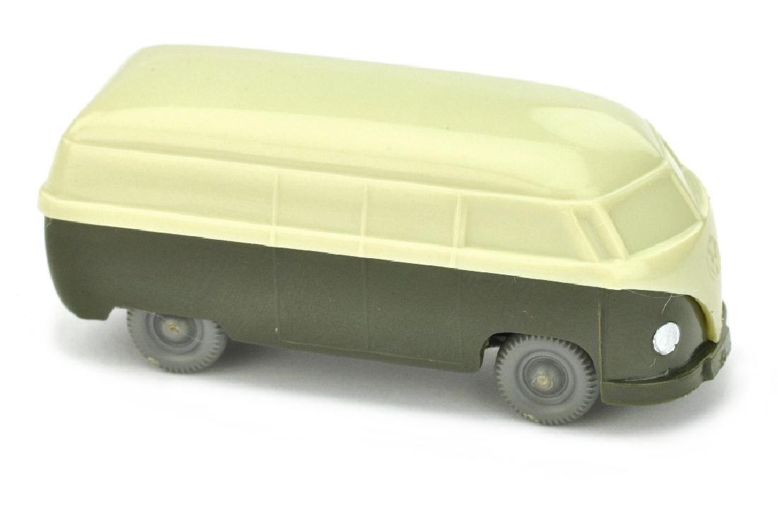 VW T1 Kasten (Typ 3), hellgruenbeige/olivgruen