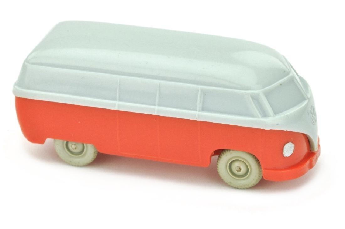VW T1 Kasten (Typ 3), silbergrau/orangerot