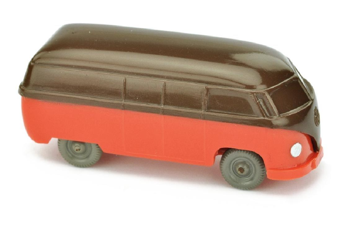 VW T1 Kasten (Typ 3), schokobraun/orangerot