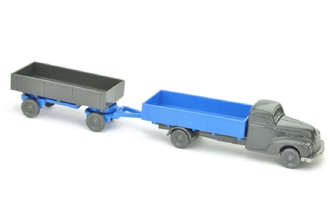 Ford Pritschenzug, d'-basaltgrau/himmelblau