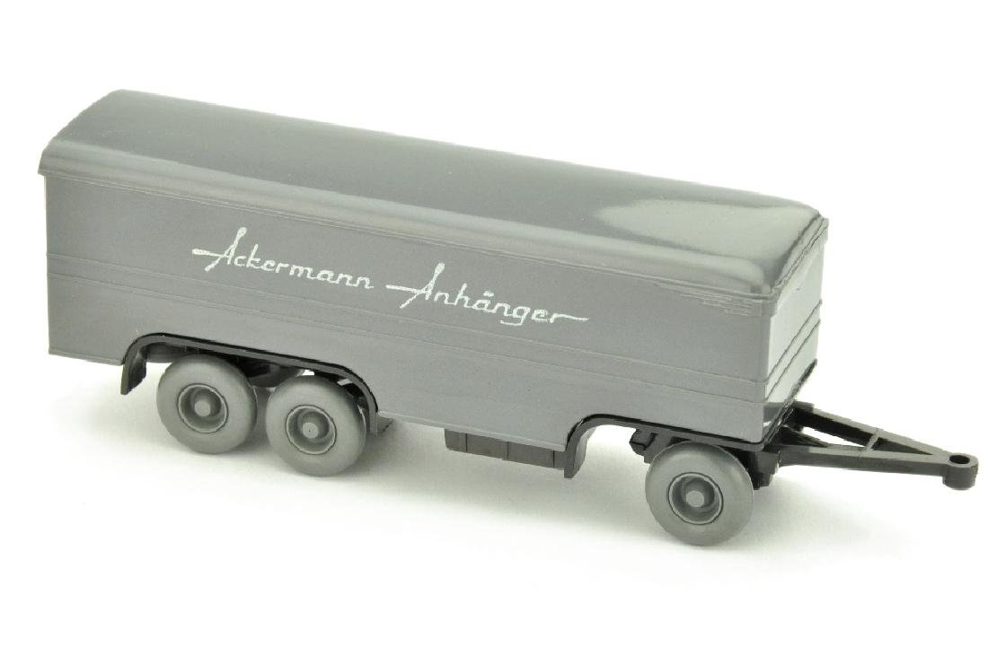 Ackermann-Anhaenger, basaltgrau/anthrazit