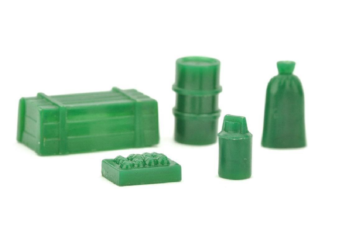 Konvolut 5 Ladegut-Teile (Typ 1), gruen