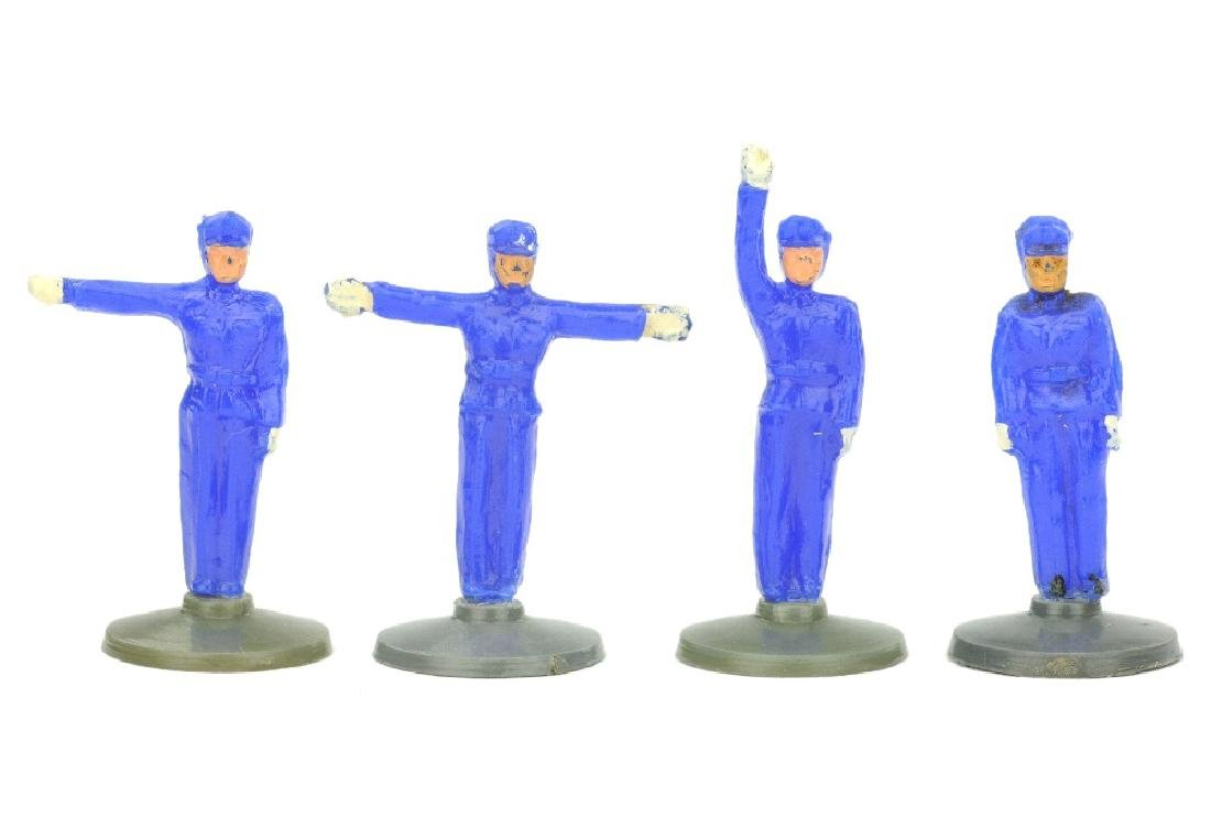 Konvolut 3 Polizisten (ultramarin)