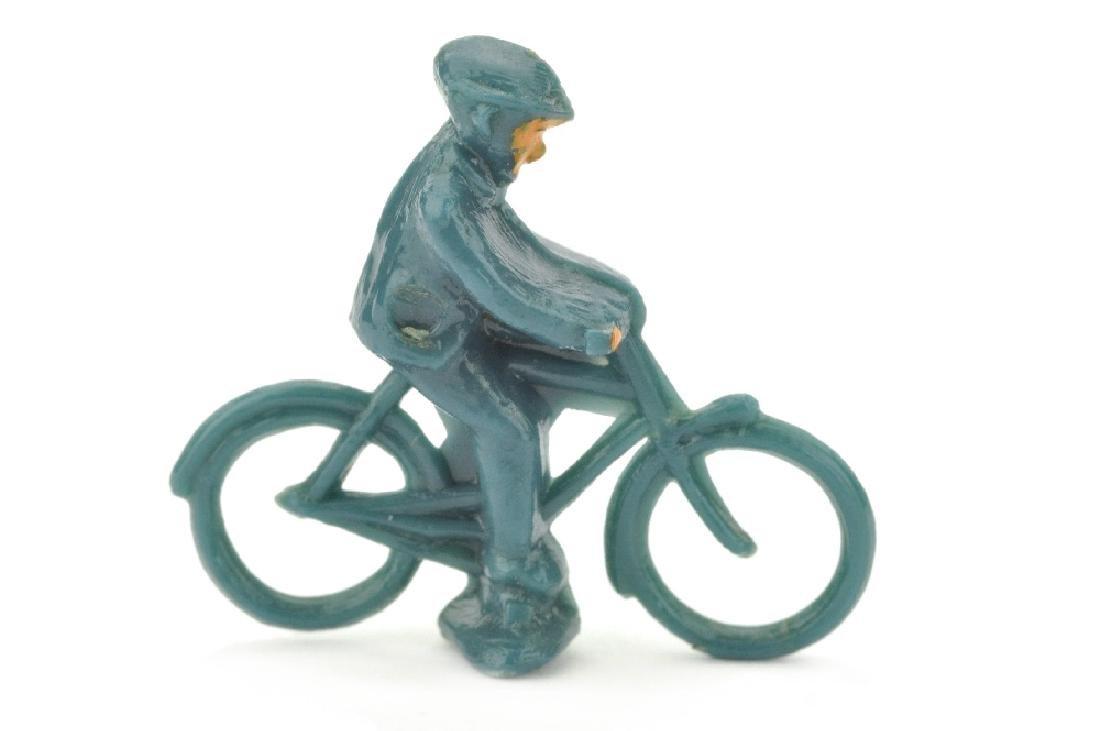 Radfahrer (maennlich), mattgraublau