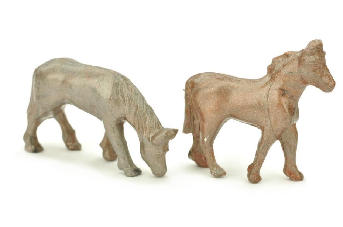 Konvolut 2 Pferde zur Arche Noah