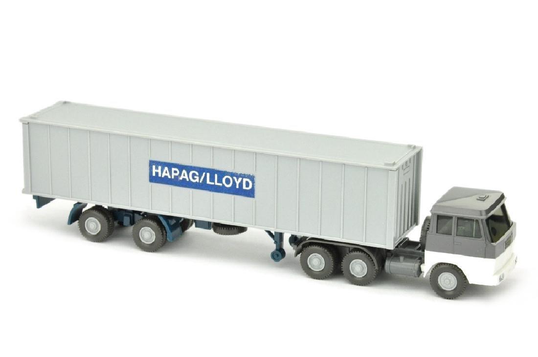 Hapag-Lloyd/aehnlich 7GM - basaltgrau/weiss