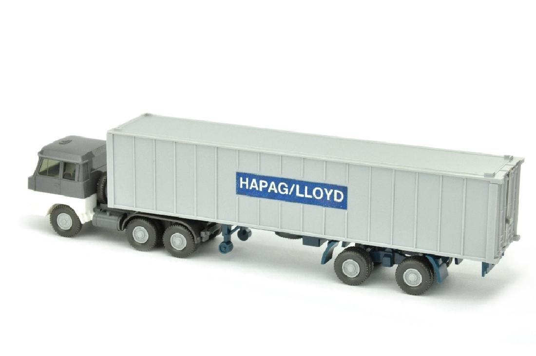 Hapag-Lloyd/aehnlich 7GM - basaltgrau/weiss - 2
