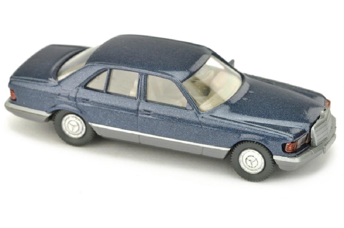Mercedes 500 SE, dunkelblaumetallic lack
