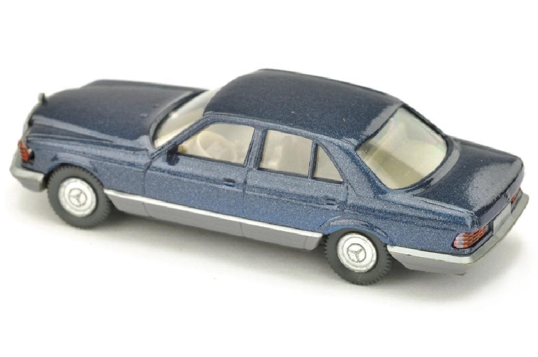 Mercedes 500 SE, dunkelblaumetallic lack - 2